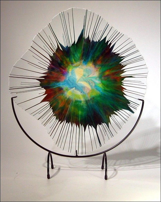 Click to view detail for Art Glass - 18 -014_5  Energy Web