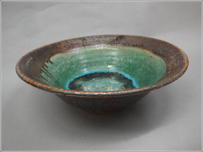 KB331 Flared Bowl with Glass at Hunter Wolff Gallery