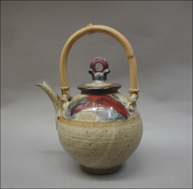 TH-6412 Teapot at Hunter Wolff Gallery