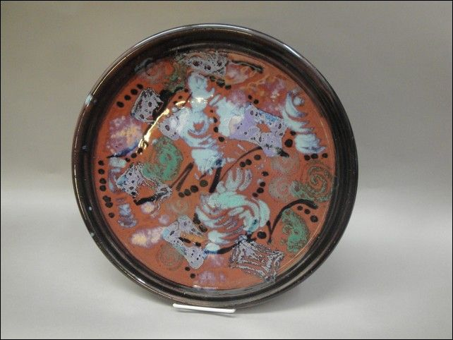 TH-6733 Round Platter at Hunter Wolff Gallery