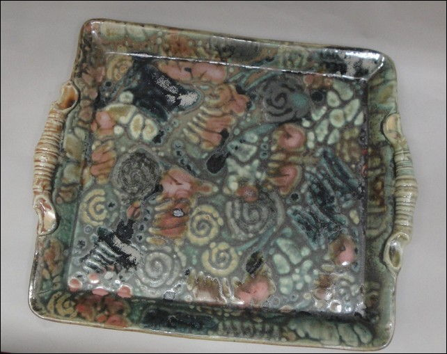 Click to view detail for TH-7405 Large Square Serving Platter