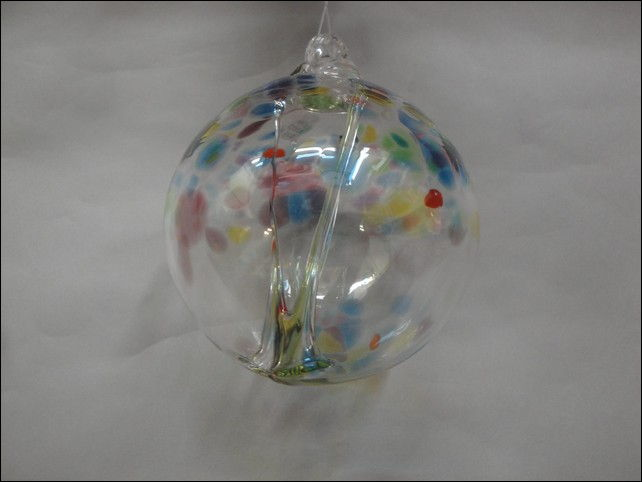 Click to view detail for DB-202 Ornament Witches Ball, Rainbow