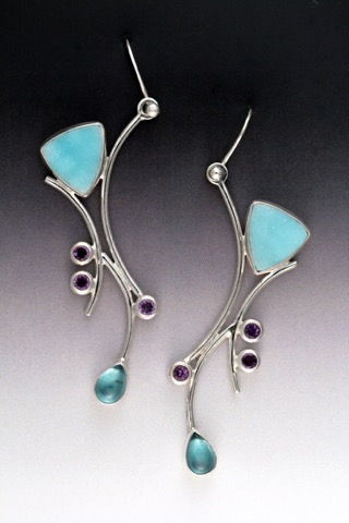 Click to view detail for MB-E319 Li Earrings