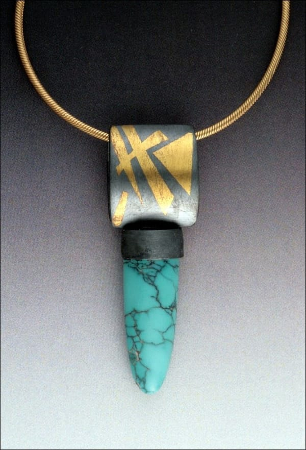 MB-P281TQ Pendant, Tiger at Hunter Wolff Gallery