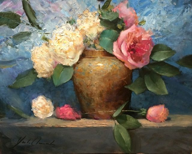 Roses and Peonies at Hunter Wolff Gallery
