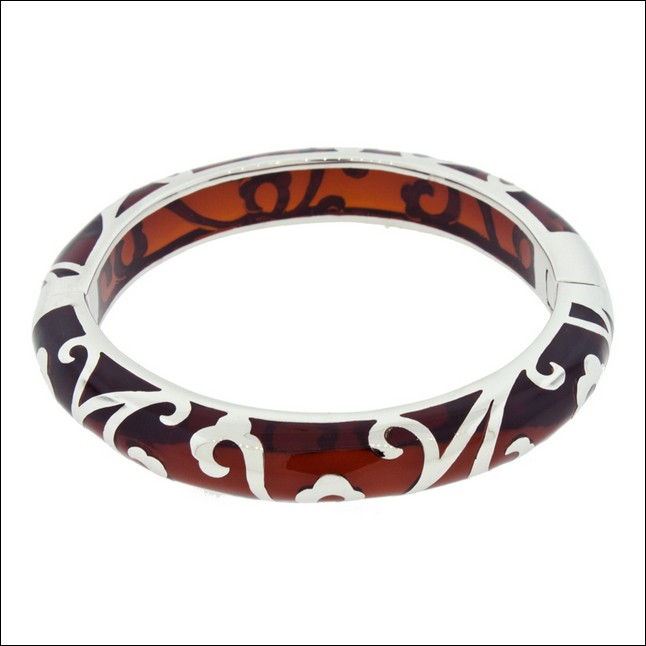 Click to view detail for Bracelets - Scroll Bangle