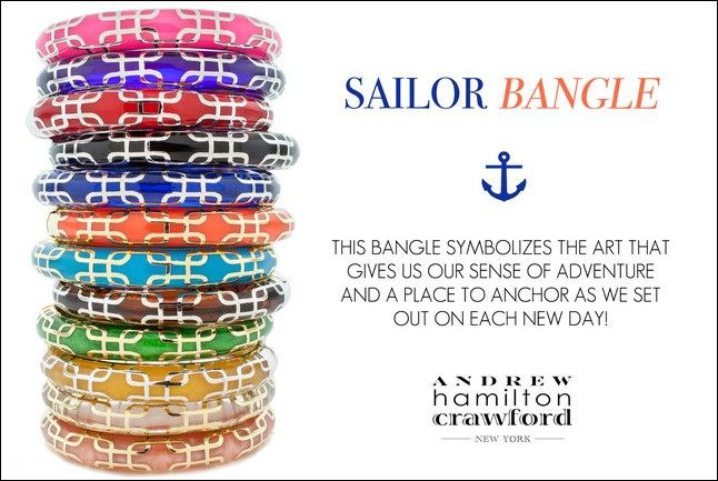 Click to view detail for Bracelets - Sailor Bangle