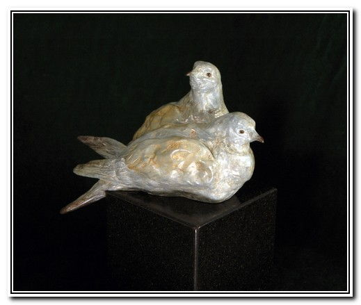 Click to view detail for The Lovers - A Pair of Doves