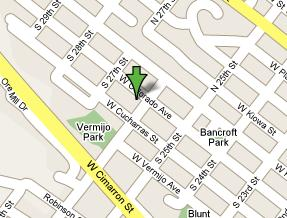 Click the map to get directions to the Hunter~Wolff Gallery