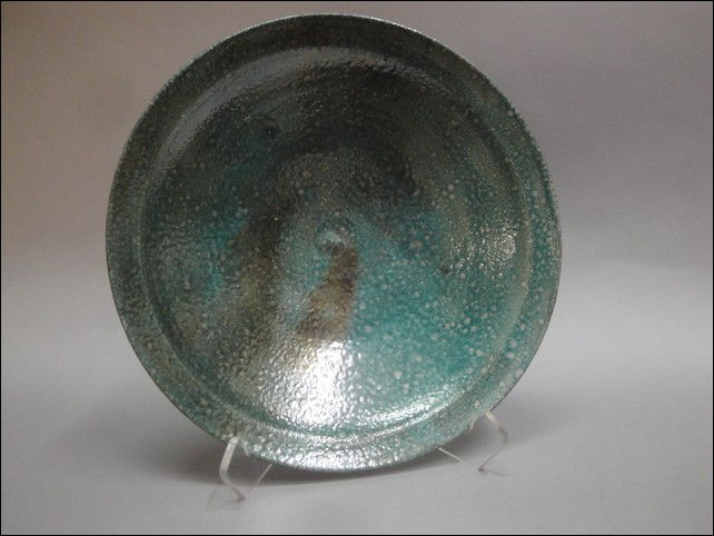 Click to view detail for MW-045 Small Raku Plate