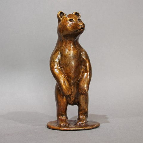 Click to view detail for FL095 Standing Bear 7x3x3 $700