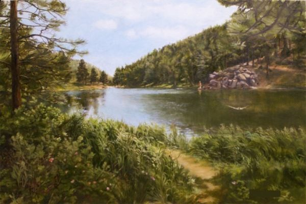 Click to view detail for Palmer Lake  18 x 12