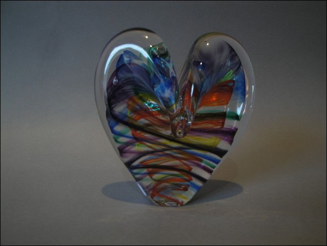 Click to view detail for DG-1075 Heart - Chakra