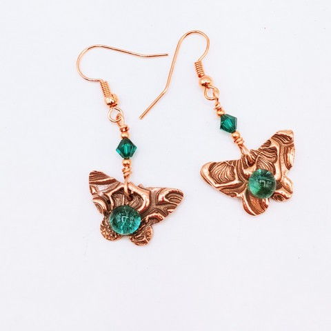 Click to view detail for DM-111 Earrings Butterfly $32