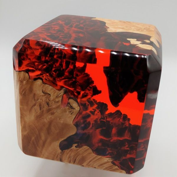 Click to view detail for SH115 Fire Cube Red 4