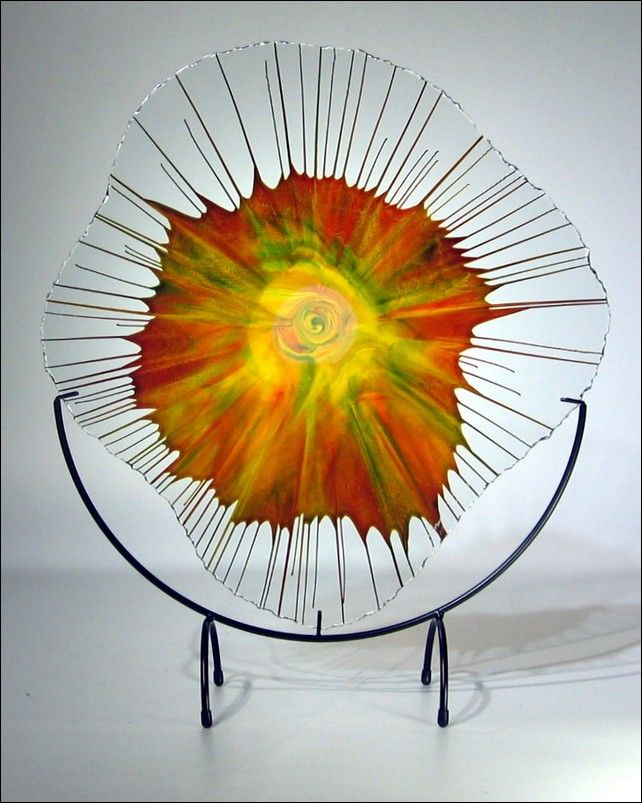 Click to view detail for Art Glass - 18 - 001_5 Energy Web