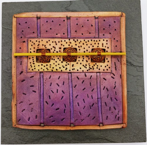 Click to view detail for VG186 Quilted Whimsies 6x6 $185