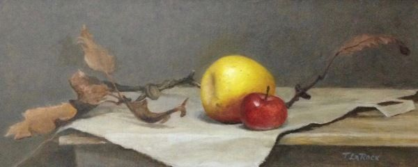 Apples and Oak Leaves at Hunter Wolff Gallery