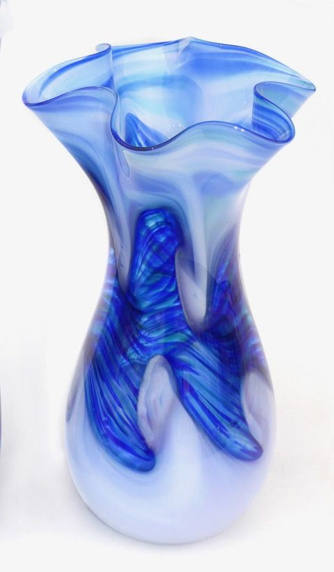 Click to view detail for DB-247 Vase Ocean Fluted