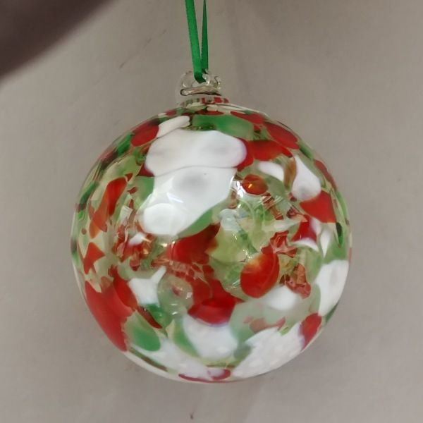 Click to view detail for DB-262 Optic ornament, holiday colors