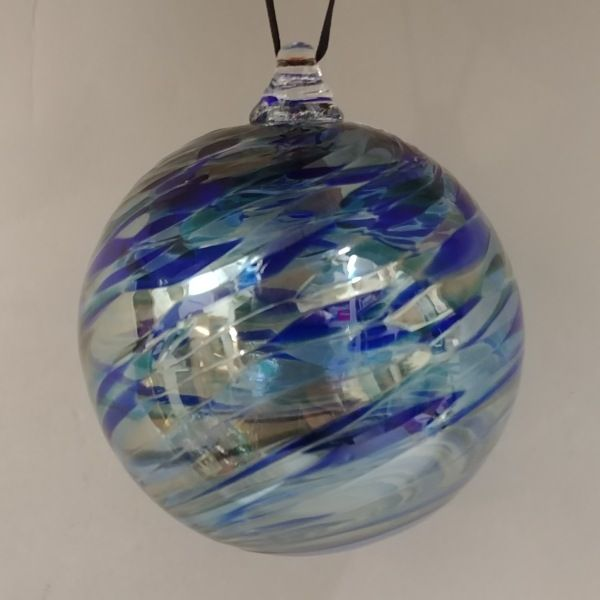 Click to view detail for DB-265 Twist ornament, blue