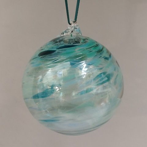 Click to view detail for DB-267 Twist ornament, teal