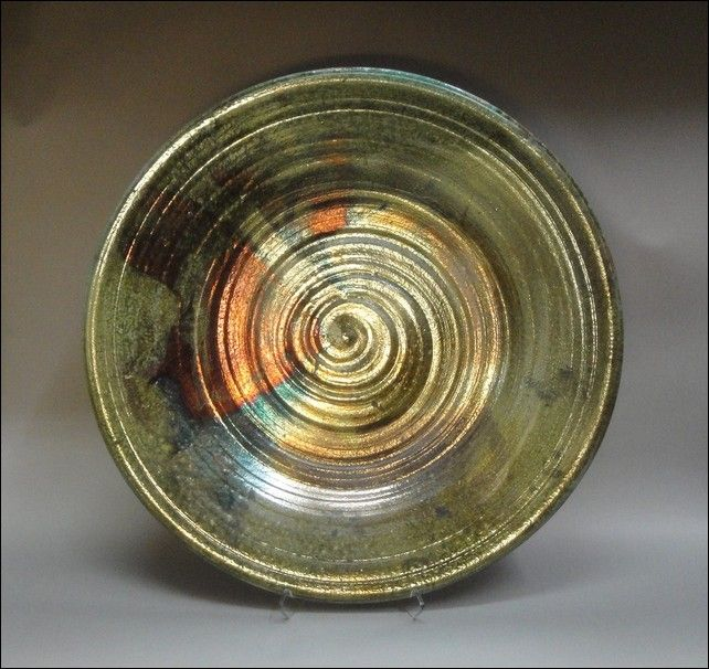 Click to view detail for MW-331 Raku Platter Large