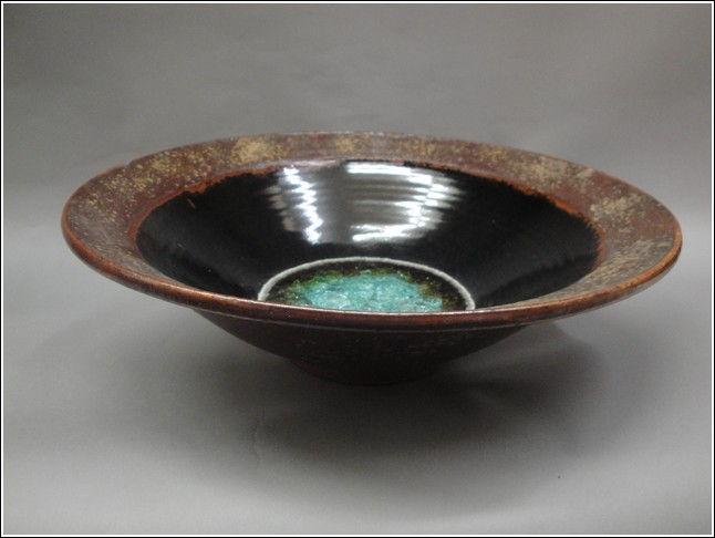 Click to view detail for KB332 Flared Bowl with Glass XL