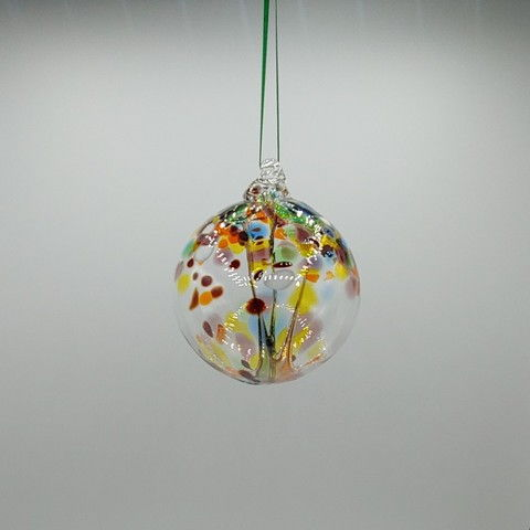 Click to view detail for DB-369 Witchball Ornament Party Mix 3x3