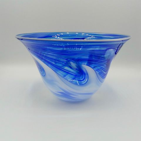 Click to view detail for DB-402 Bowl Tidal Wave Blue 7x7