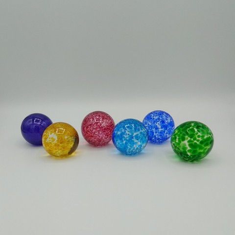 Click to view detail for DB-403 Small Solid Spheres (6)