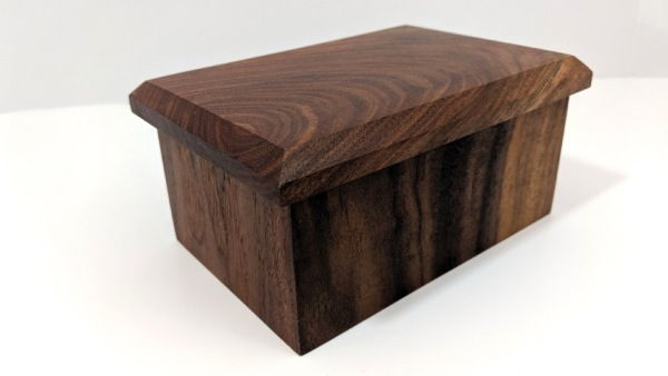 Click to view detail for BEN-5014w Box Walnut 4.5x6x3 $30