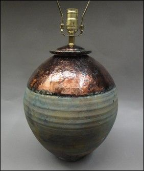 Click to view detail for TH-6580 Raku Lamp