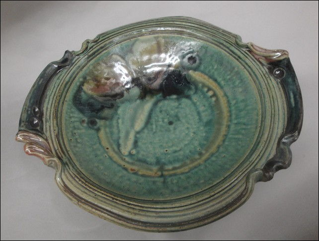 Click to view detail for TH-6647 Fancy Footed Serving Platter