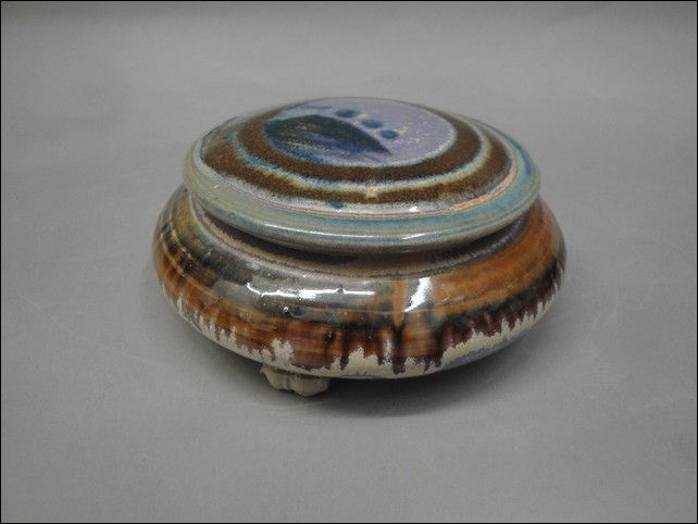 Click to view detail for TH-6656 Round, Lidded Treasure Box