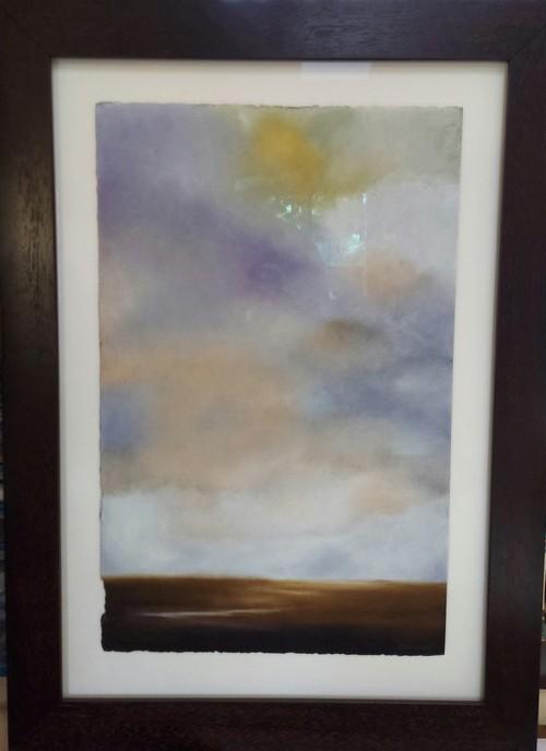 A Cloud Filled Sky 22.5x 14.75 $2100 by Kathy Beekman