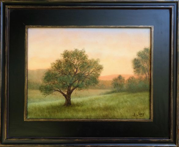 Click to view detail for Apricot Morning 9x12 $450