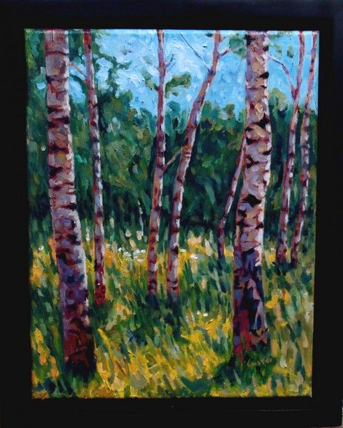 Click to view detail for Aspen Grove 14x11 $675