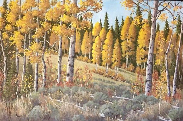 Aspen Splendor at Hunter Wolff Gallery