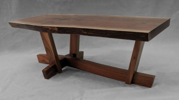 Click to view detail for BEN-9042  Table, Live Edge Coffee Table $3000
