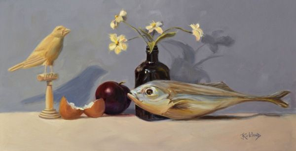 Click to view detail for Bird-Bottle-Fish-Egg-Plum