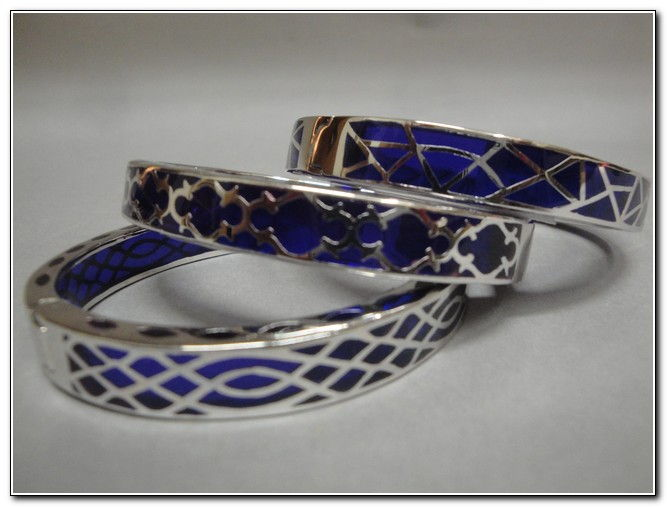 Click to view detail for Bangle - Purple Designs