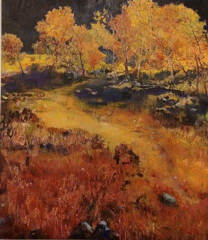 Click to view detail for Dark Mountain Meadow 50x44