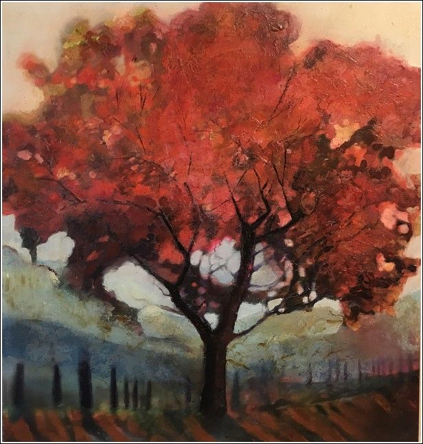 Click to view detail for Blushing Red Tree