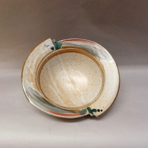 Click to view detail for Bowl, Cut Away Edge