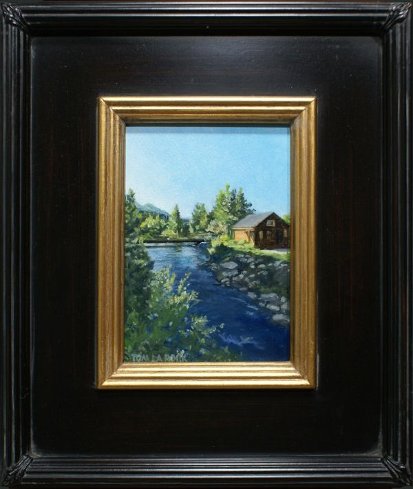 Click to view detail for Breckenridge Morning 7x5 $320