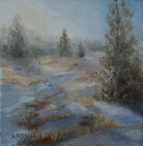 Click to view detail for Brisk Morning 8x8