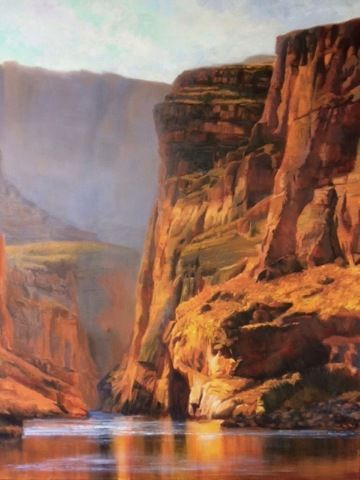 Click to view detail for Canyon Calling 48 x 36