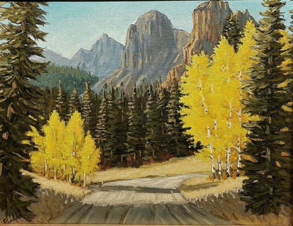 Click to view detail for Colorado Country Road 10x8 $250