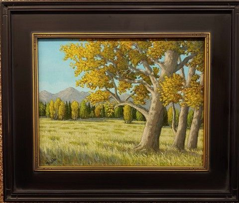 Click to view detail for Cottonwoods In Full Color 11x14